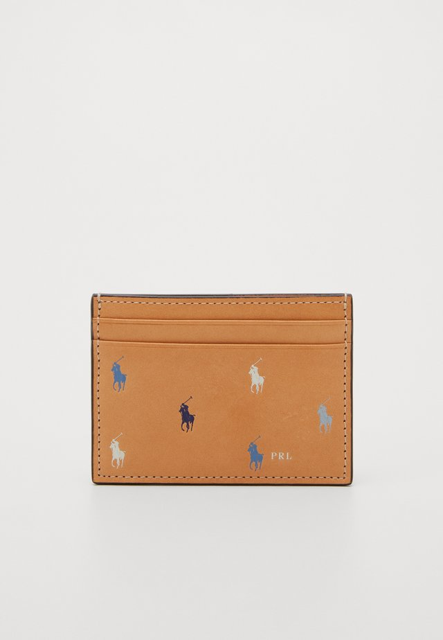 PONY REPEAT CARD CASE - Wallet - natural