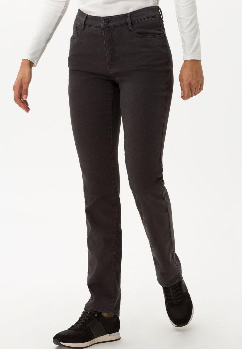BRAX - STYLE CAROLA - Trousers - grey