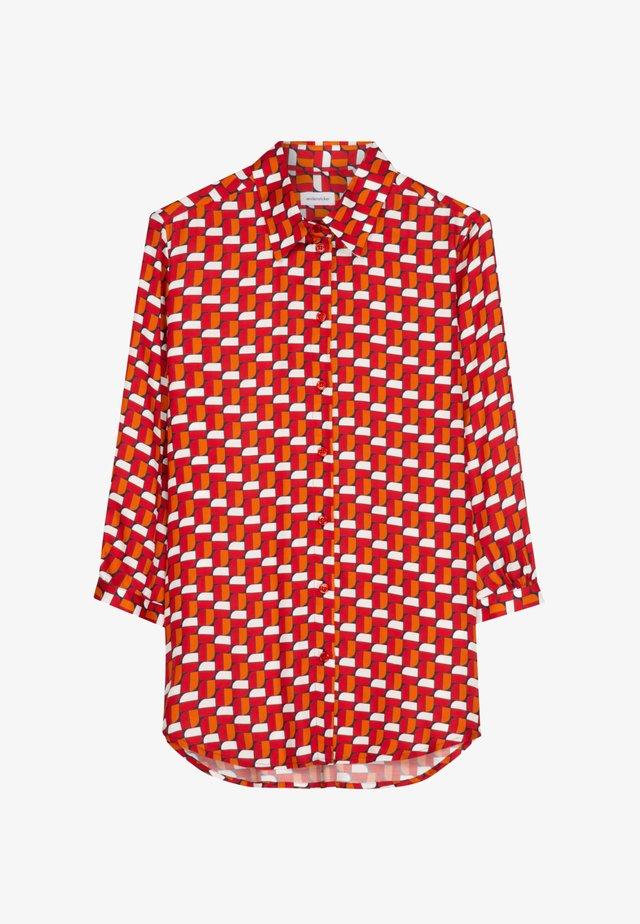 SCHWARZE ROSE - Shirt - rot