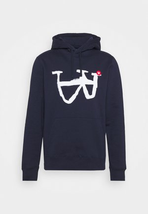 IAN HOODIE - Sweatshirt - navy