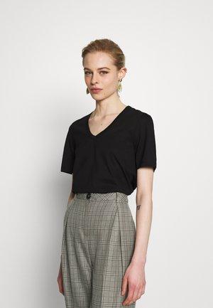 NUDMEG - T-shirt basique - black