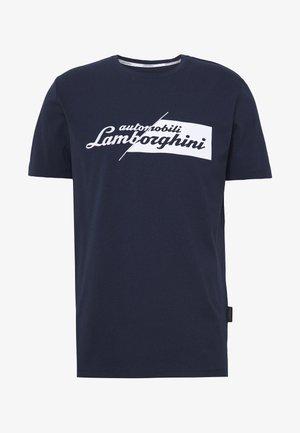 CUT LOGO - T-shirt z nadrukiem - prussian blue