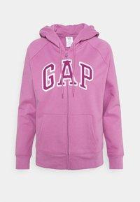 GAP - FASH - Huvtröja med dragkedja - purple clover - 0