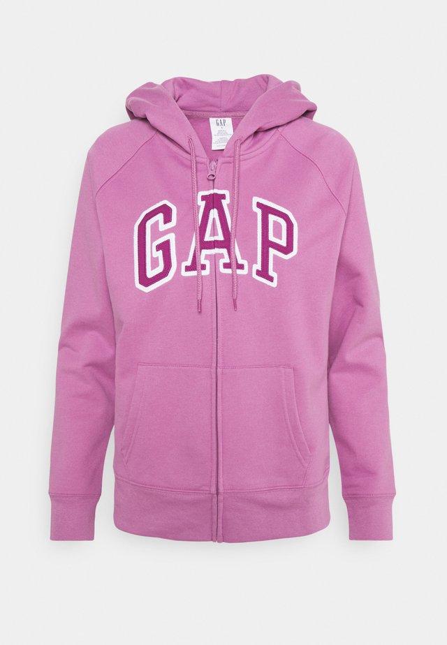 FASH - Zip-up hoodie - purple clover