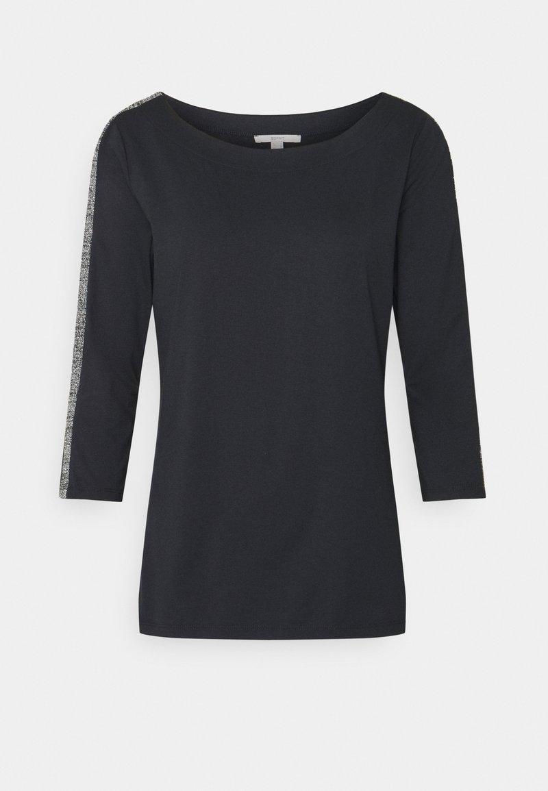 Esprit - ECOV LUREX  - Pitkähihainen paita - black