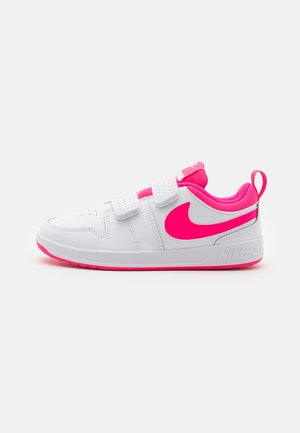 PICO 5 UNISEX - Sports shoes - white/hyper pink