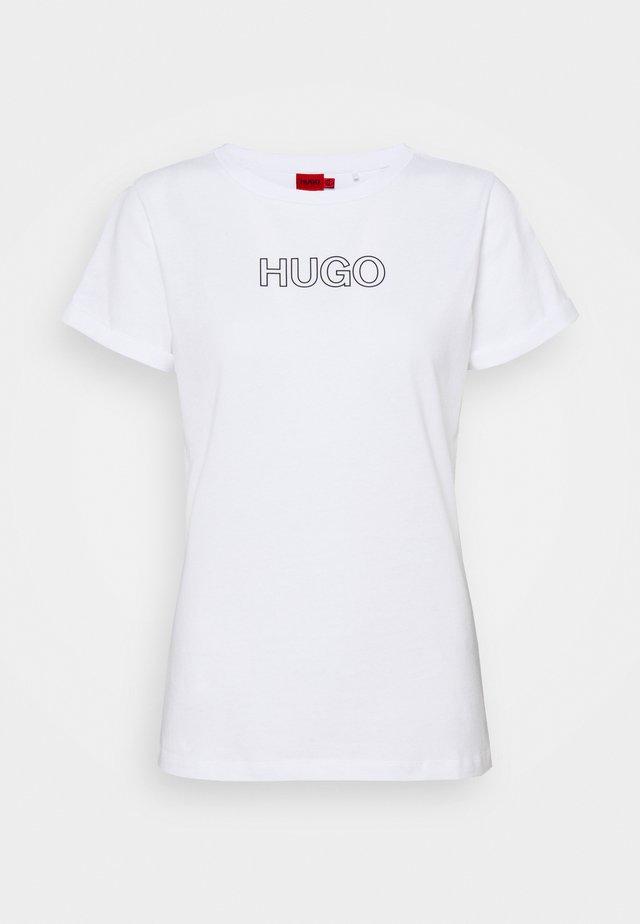 THE SLIM TEE - T-shirt print - white