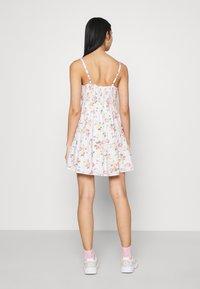 Hollister Co. - BARE FEMME SHORT DRESS - Day dress - white - 2