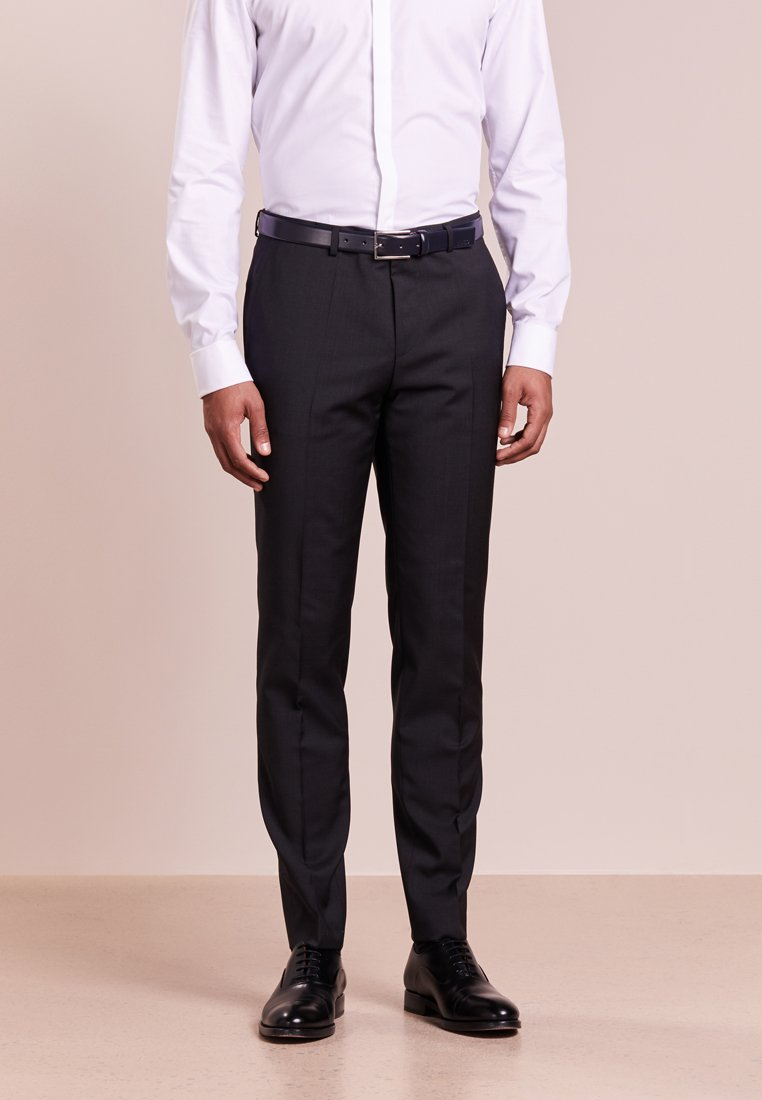 HUGO - HARTLEYS - Kostymbyxor - dark grey