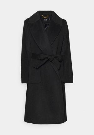 LINED COAT - Classic coat - black
