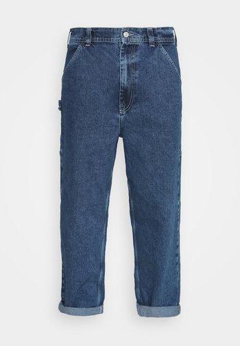 CARPENTER - Jeans straight leg - dark vintage