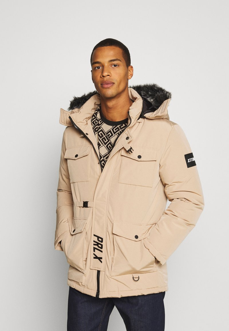 PARELLEX - GALACTIC TECH JACKET - Winterjas - sand