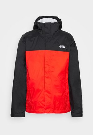 MENS VENTURE 2 JACKET - Kurtka hardshell - fiery red/black