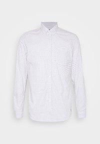 TOM TAILOR DENIM - ALLOVER PRINTED STRETCH SHIRT - Shirt - white - 4