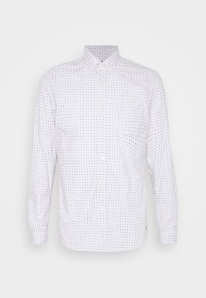 ALLOVER PRINTED STRETCH SHIRT - Shirt - white