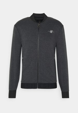 TONAL CHECK BOMBER - Bomberjacks - grey
