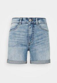 ICHI PETITE - IHTWIGGY - Denim shorts - light blue - 0