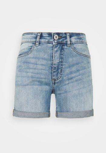 IHTWIGGY - Denim shorts - light blue