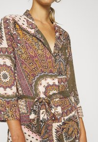 Object - OBJSUN LONG DRESS - Sukienka letnia - burnt olive - 5