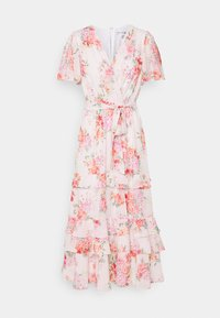 SUSANNA RUFFLE TIERED MIDI DRESS - Day dress - blush spring