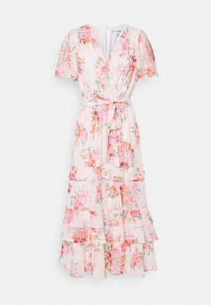 SUSANNA RUFFLE TIERED MIDI DRESS - Day dress - blush spring