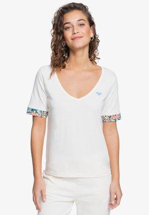 Print T-shirt - powder puff