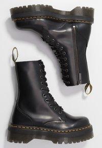 Dr. Martens - JADON  - Platåstøvletter - black - 3