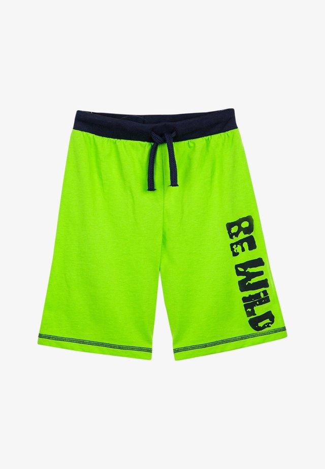 Shorts - jasmine green