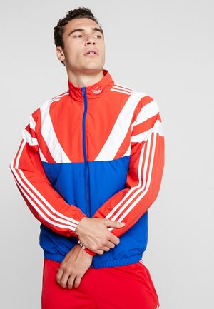 Training jacket - collegiate royal/red