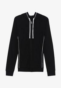 Tezenis - Zip-up hoodie - nero/bianco - 3