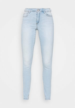 ONLWAUW LIFE MID - Jeans Skinny Fit - special bright blue denim