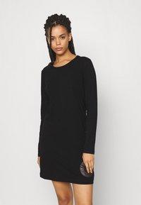 Calvin Klein Underwear - ICONIC LOUNGE NIGHTSHIRT - Nightie - black - 0