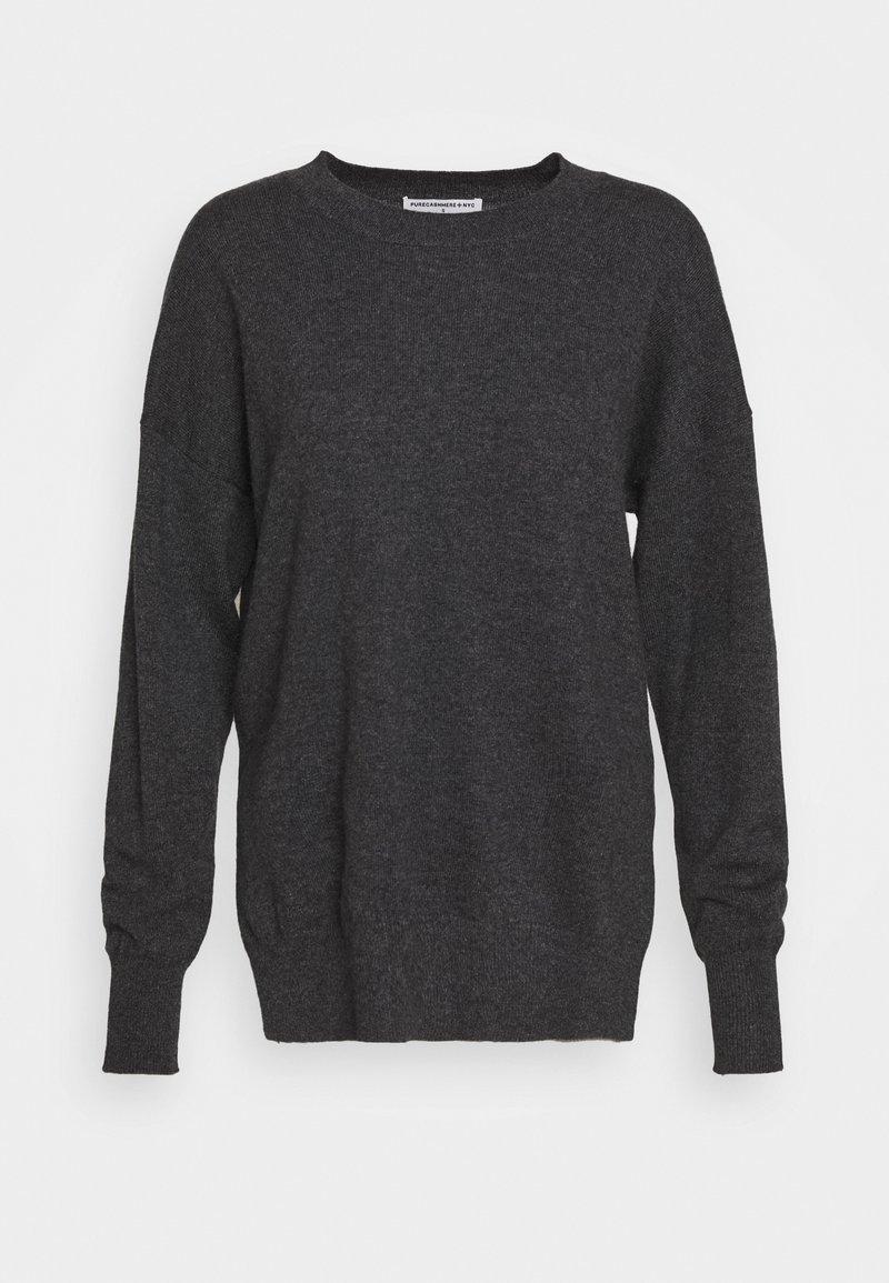 pure cashmere - LOOSE FIT - Trui - graphite