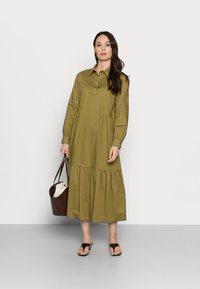 Esprit Collection - Shirt dress - olive - 1