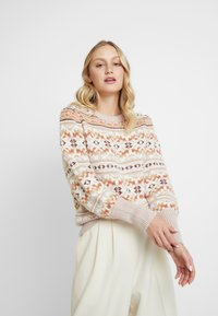 GAP - FAIRISLE CREW - Maglione - brown - 0