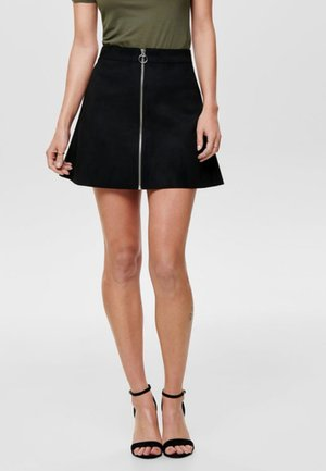OTW - A-line skirt - black
