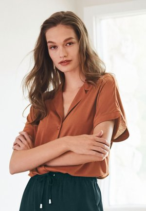 LUXE  - Button-down blouse - brown