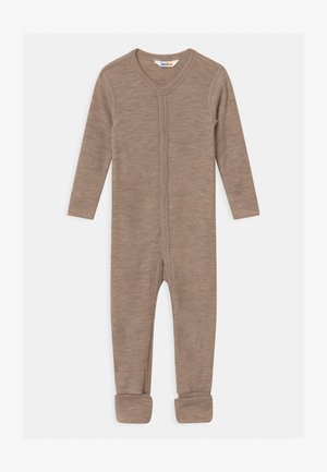 FOOT UNISEX - Pyjamas - mottled light brown