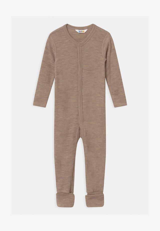 FOOT UNISEX - Pyjamas - mottled light brown
