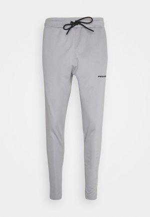 LOGO PANTS UNISEX - Teplákové kalhoty - grey/coconut milk