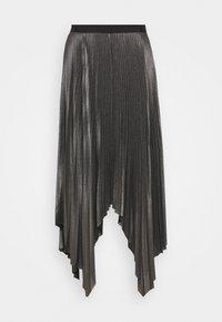 AllSaints - JAS SKIRT - A-line skirt - silver - 4