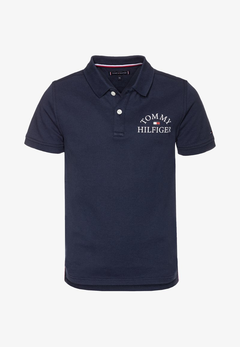 Tommy Hilfiger - ESSENTIAL LOGO CHEST - Polo shirt - blue