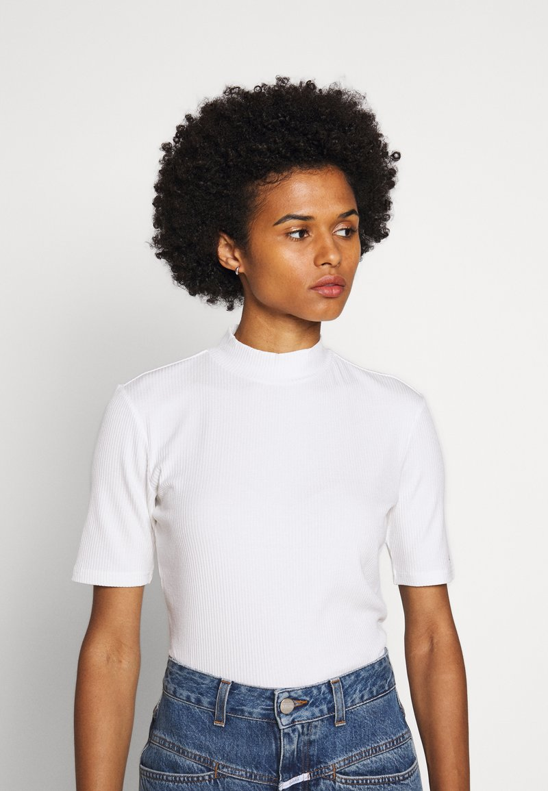 HUGO - DINANE - Basic T-shirt - beige