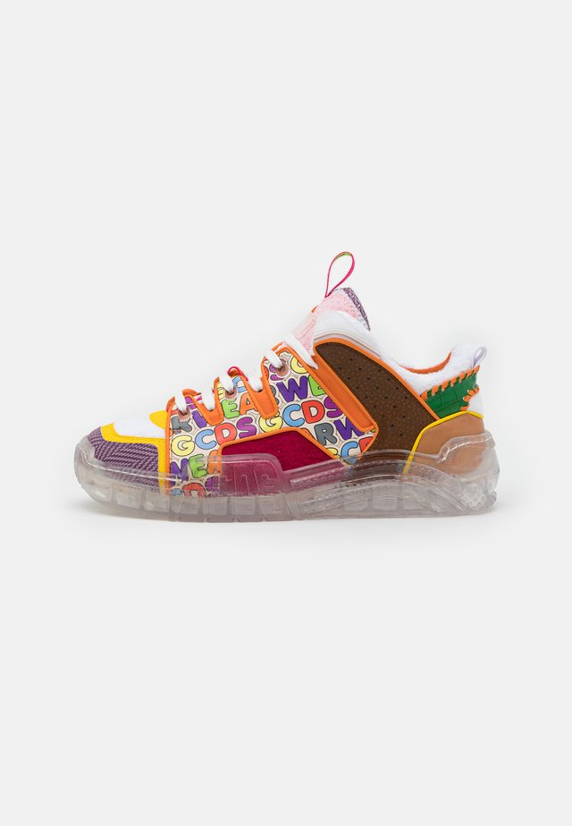 PATCHWORK SKATE  - Baskets basses - multicolor