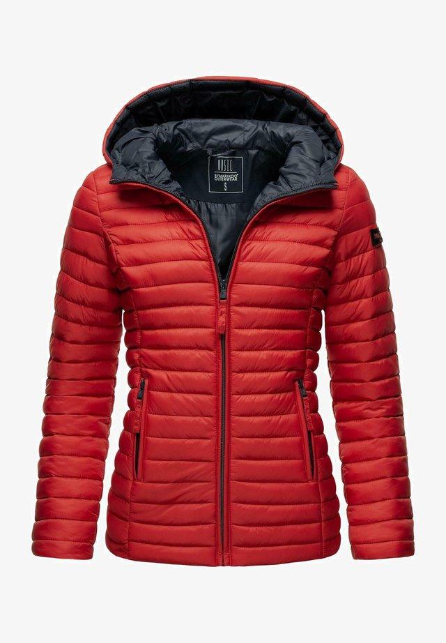 Winterjas - light red