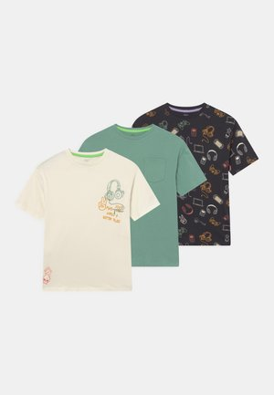 GRAPHIC 3 PACK - T-shirt print - multi-coloured