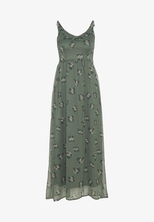 VMKAY SINGLET - Maxi dress - khaki