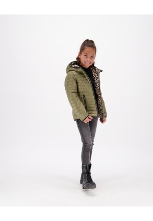 TAJRA - Gewatteerde jas - multicolor brown