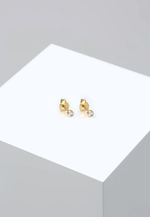 Earrings - gold-colored