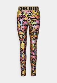 Versace Jeans Couture - LADY FUSEAUX - Leggings - Trousers - black - 3